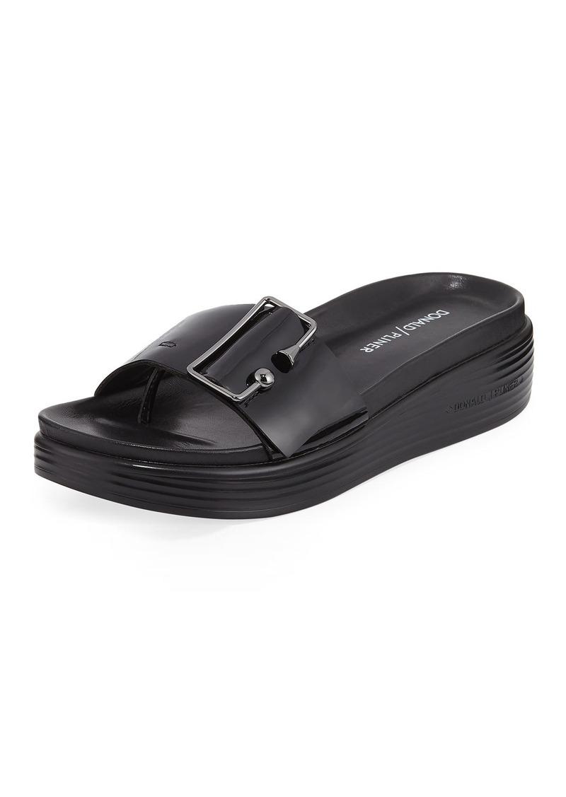 Donald J Pliner Fara Metallic Platform Sandal 1q9tF3kB