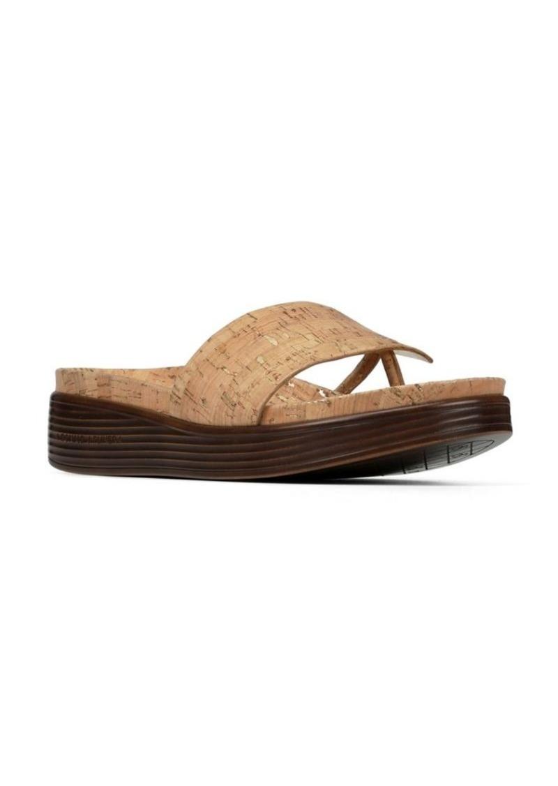 322889f2f3b Donald J Pliner Donald J Pliner Fifi Metallic Cork Sandals