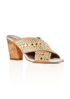 Donald J Pliner Gillian Embellished Crisscross Slide Sandals