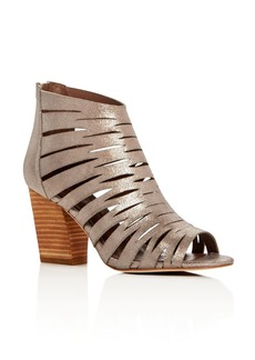 Donald J Pliner Greece Metallic Caged Sandals