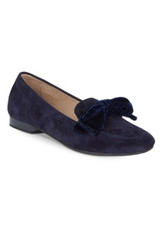 Donald J Pliner Harriet Suede Velvet Loafers