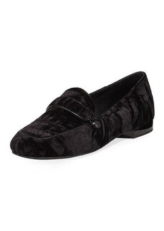 Donald J Pliner Haven Velvet Flat Loafer