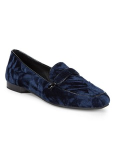 Donald J Pliner Haven Velvet Loafers