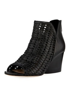 Donald J Pliner Jacqi Woven Leather Bootie