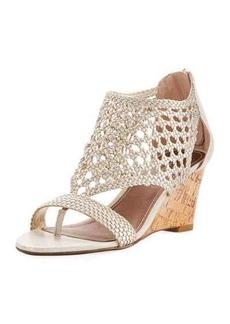 Donald J Pliner Jolie Woven Wedge Sandal