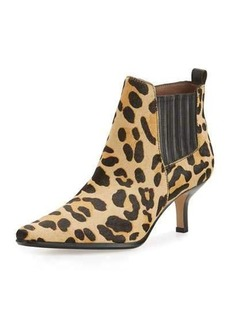 Donald J Pliner Latour Calf-Hair Pointed-Toe Bootie