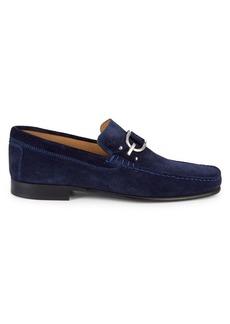 Donald J Pliner Leather Slip-On Loafers
