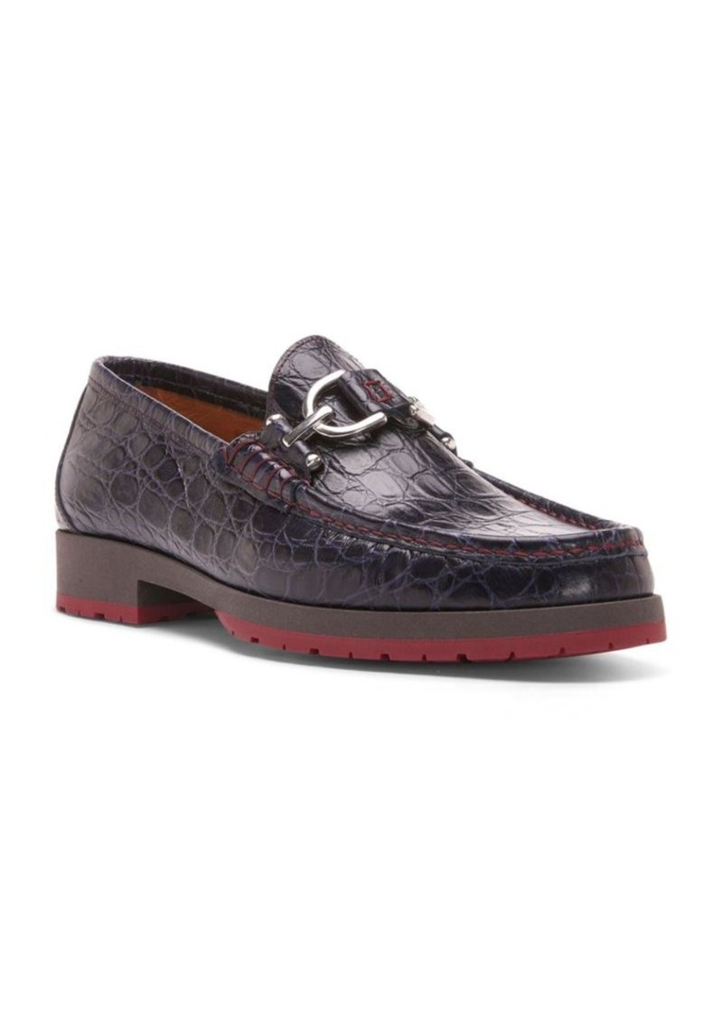 1bd99750a59 Donald J Pliner Donald J Pliner Lelio Crocodile-Embossed Leather ...