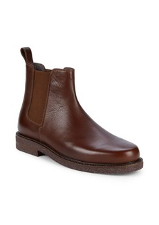 Donald J Pliner Len Leather Chelsea Boots