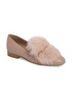 Donald J Pliner Lillian Genuine Rabbit Fur Loafer (Women)