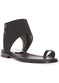 Donald J Pliner Lorel Flat Ankle-Strap Sandals Women's Shoes