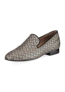 Donald J Pliner Lyle Woven Leather Slipper