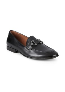 Donald J Pliner Moritz Leather Loafers