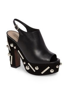 Donald J Pliner Nora Sitcks & Studs Platform Sandal (Women)