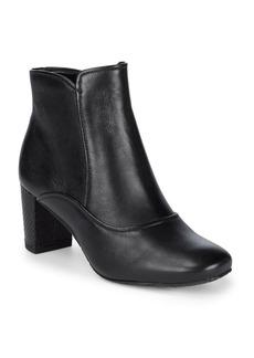 Donald J Pliner Paisley Leather Booties
