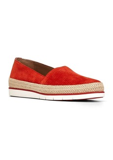 Donald J Pliner Palm Embossed Suede Slip-On Sneakers