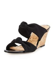 Donald J Pliner Pela Knotted Wedge Sandal