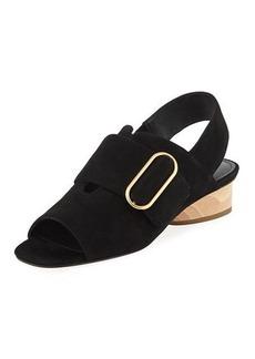 Donald J Pliner Randie Slingback Peep-Toe Sandal