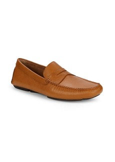 Donald J Pliner Stingray Penny Loafers