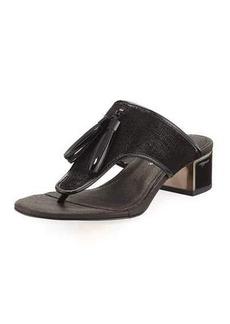 Donald J Pliner Tira Tassel Thong Slide Sandal