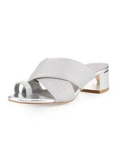 Donald J Pliner Toto Toe Ring Low-Heel Sandal