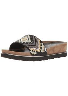 Donald J Pliner Women's Cava3spm6 Flat Sandal   M US