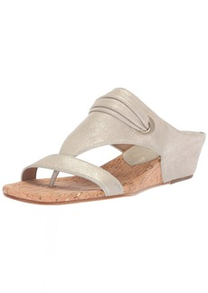 Donald J Pliner Women's Dionne Wedge Sandal  7 Medium US