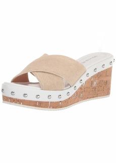 Donald J Pliner Women's Slide Wedge Sandal