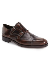 Donald J Pliner 'Ziggy' Double Monk Strap Shoe (Men)