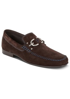 Donald J Pliner Donald Pliner Dacio Suede Bit Loafer Men's Shoes