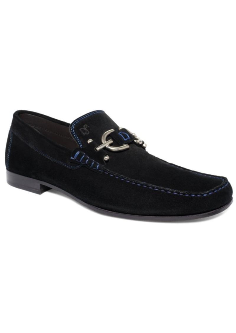Donald J Pliner Donald Pliner Dacio Suede Bit Loafer Men's Shoes