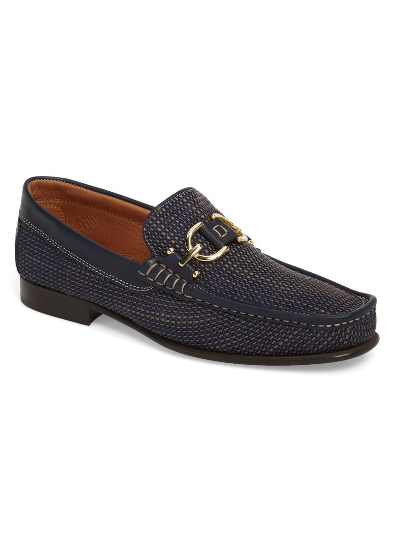 Donald Pliner Men's Dacio Woven Bit Loafer