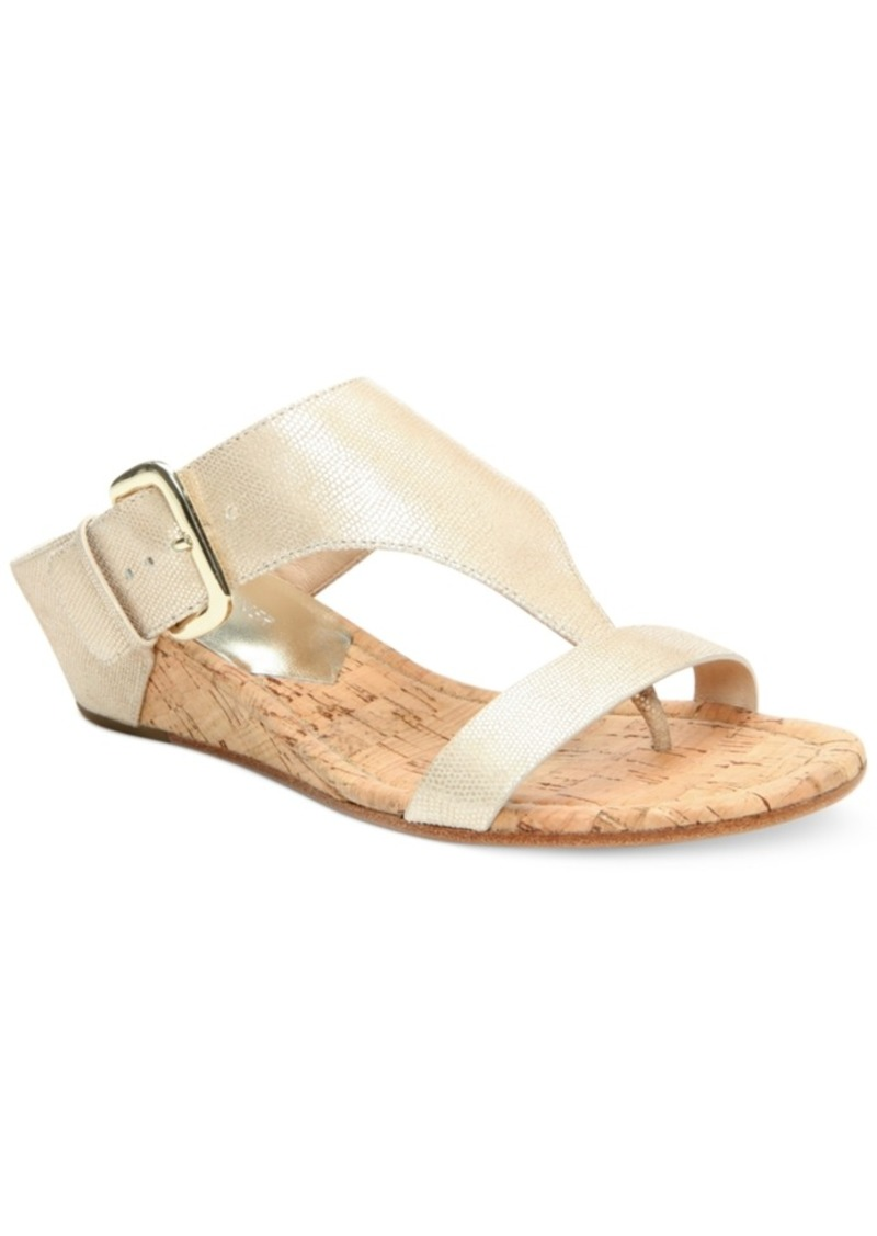 Donald J Pliner Donald Pliner Doli Wedge Sandals Women's Shoes