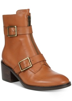 Donald J Pliner Donald Pliner Dusten Leather Booties Women's Shoes