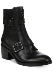Donald J Pliner Donald Pliner Dusten Leather Booties Women's Shoes