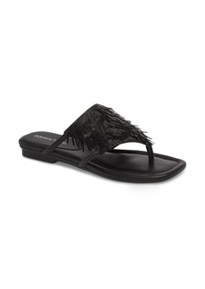 Donald J Pliner Donald Pliner Kya Feather Sequin Sandal (Women)