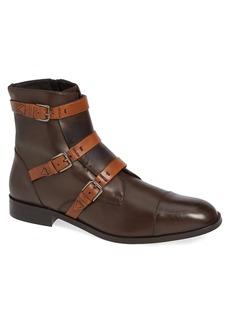Donald J Pliner Donald Pliner Martino Buckle Strap Boot (Men)