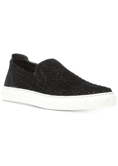 Donald J Pliner Donald Pliner Men's Clark Woven Kid Suede Slip-On Sneakers Men's Shoes