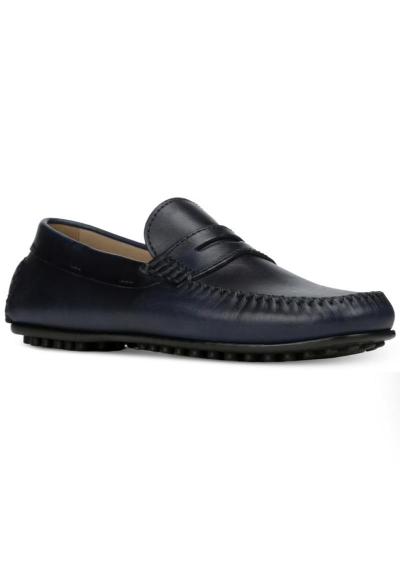 Donald J Pliner Donald Pliner Men's Sander Penny Moc-Toe Drivers Men's Shoes