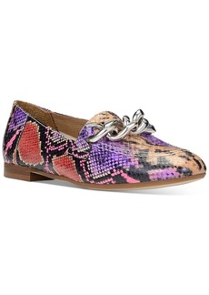 Donald J Pliner Donald Pliner Nolin Chain Loafer Flats Women's Shoes
