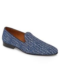 Donald J Pliner Donald Pliner Premo Woven Venetian Loafer (Men)