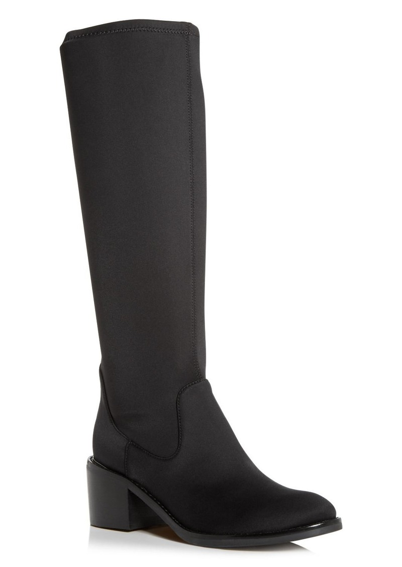 Donald J Pliner Donald Pliner Women's Deno Crepe Elastic Block-Heel Boots
