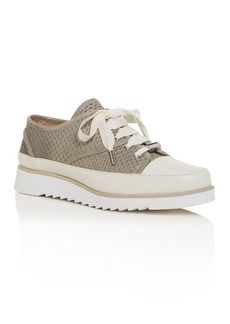 Donald J Pliner Donald Pliner Women's Flipp Perforated Low-Top Platform Sneakers
