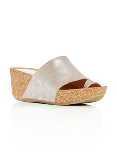 Donald J Pliner Donald Pliner Women's Ginie Platform Wedge Slide Sandals
