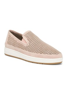 Donald J Pliner Donald Pliner Women's Maddox Perforated Suede Slip-On Sneakers