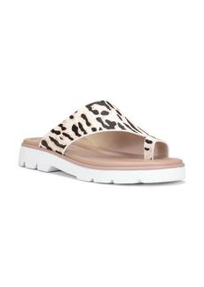 Donald J Pliner Haily Leopard Print Leather Sandal