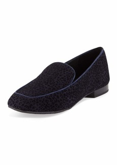 Donald J Pliner Heddy Flat Suede Loafers
