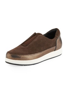 Donald J Pliner Meda Stretch Platform Sneakers