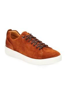 Donald J Pliner Men's Alan Suede/Leather Low-top Sneakers
