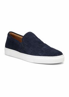 Donald J Pliner Men's Albin Woven Suede Slip-On Sneakers